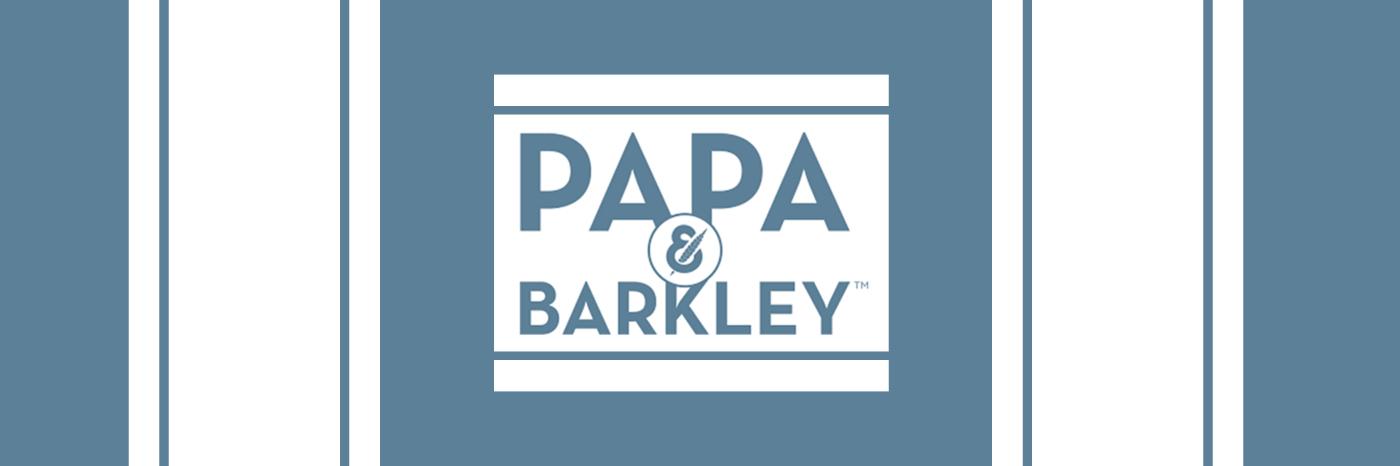 Papa & Barkley banner
