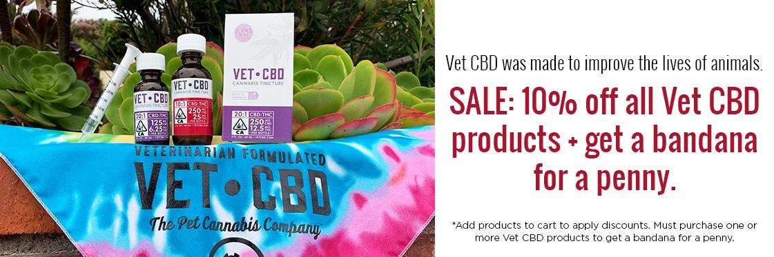 Vet CBD banner