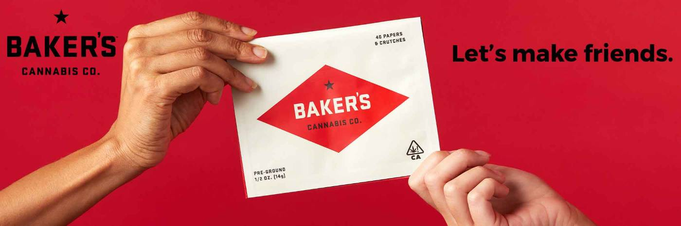 Baker's Cannabis Co. banner